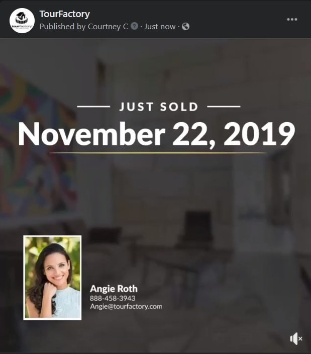 Sold Listing Video