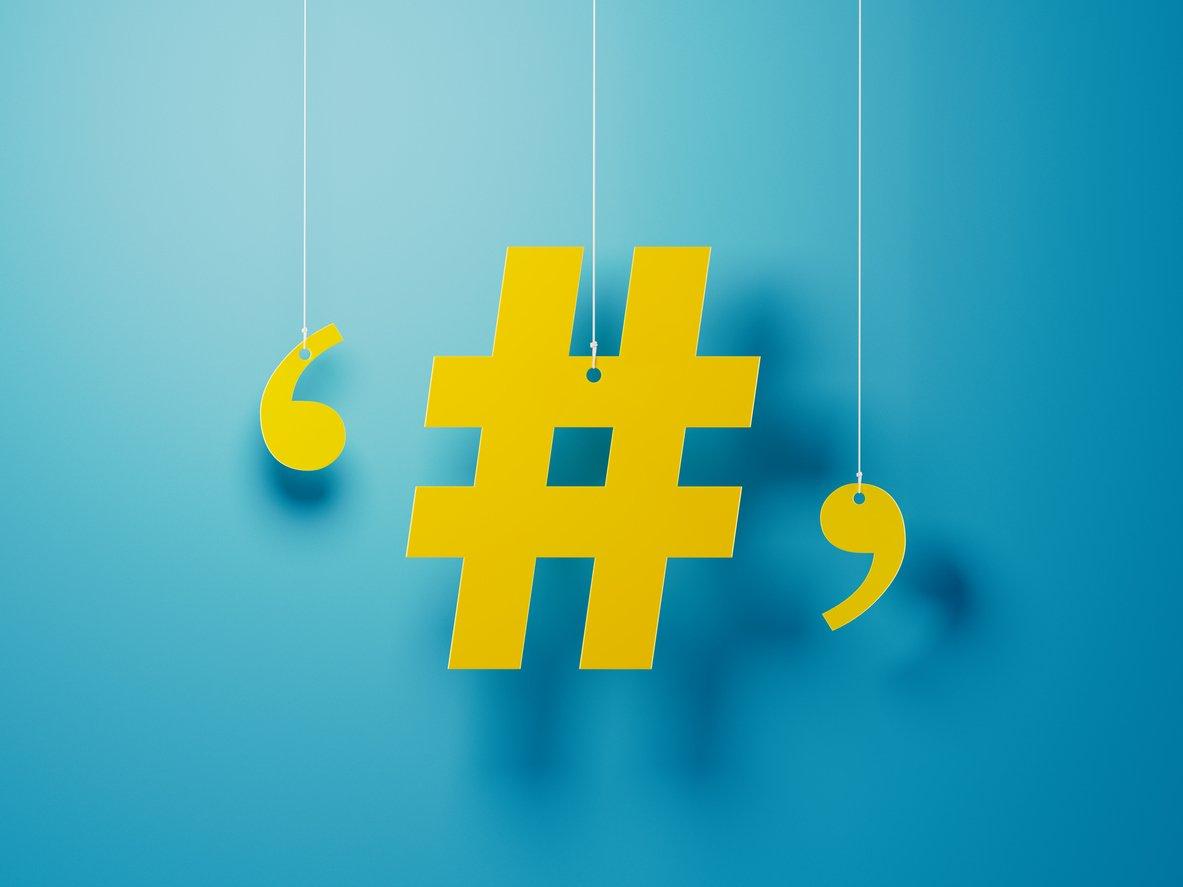 Hashtag Social Media Real Estate
